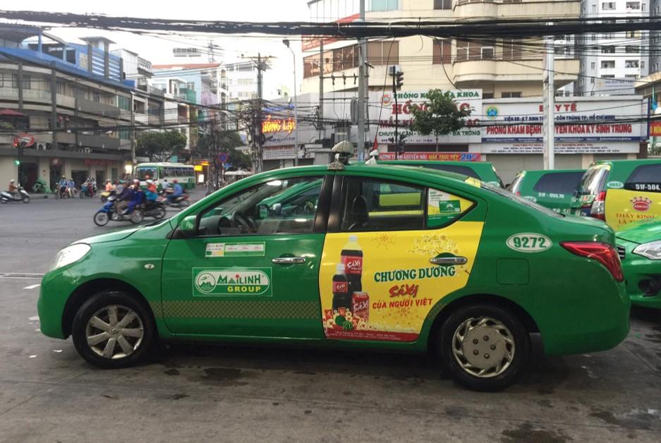 quảng cáo taxi tại hà giang