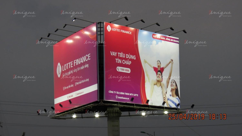 Chiến dịch quảng cáo trên taxi của Lotte Finance