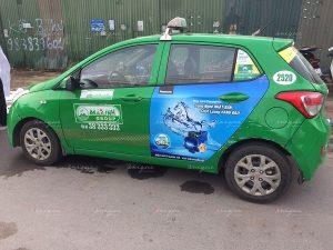 Quảng cáo trên taxi của Panasonic