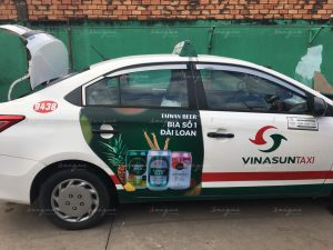 Chiến dịch quảng cáo trên taxi của Taiwan Beer